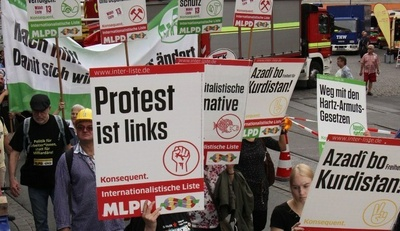 Protest ist links
