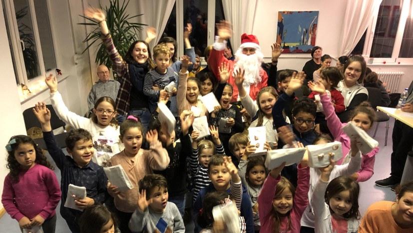 Rotfüchse: Nikolausfest mit vielen neuen Kindern